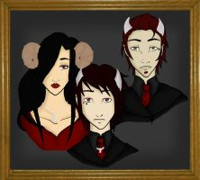 The de Sade Family by backshadow