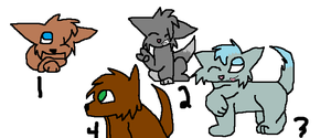 Wolf Adoptables-PRICE CUT by GrowlitheArtistGirl