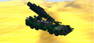 Mobile Crane Destroyer Droid by mafia279