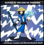 Sasuke is the god of thunder by fiori-party