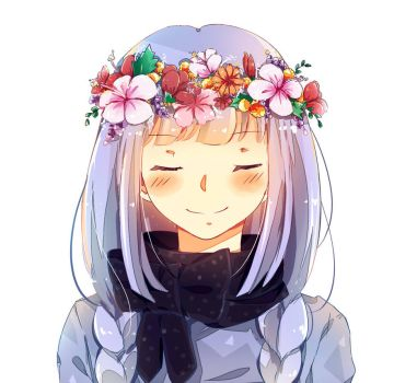 Eve - Flower Crown by ChappyVII