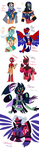Avengems: Fusions by NoneToon
