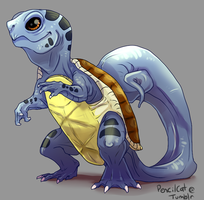 007 - Squirtle by AbelPhee