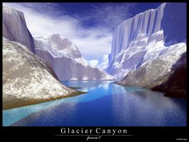 Glacier Canyon by pillipinoguy