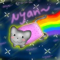 NyanCat by NyandrewB