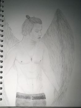 Angel Harry styles by lenadurin