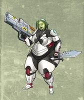 Gamora is really neat! Gamora is full of meat! by beefslamchest