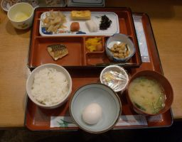 Day 303: Breakfast in Japanese Style by coolwanglu