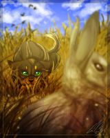 Shhhh... I'm hunting Wabbits... by RussianBlues