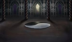 Chamber in Rhuidean -angle 2 by Gysahlgreen