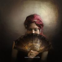 Under the Lace Fan by vampirekingdom