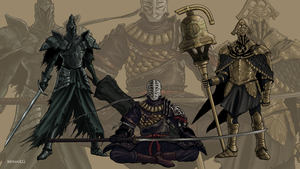 Dark Souls 2: Royal Knights by MenasLG