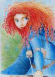 Princess MERIDA from Brave by AmandaBloom