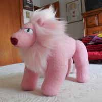 Lion plush by silentorchid