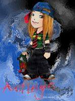 Avril Lavigne the Sk8er Girl by samuka