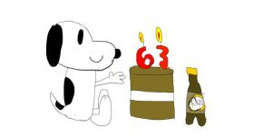 Happy Birthday Snoopy! by FireshockerBill