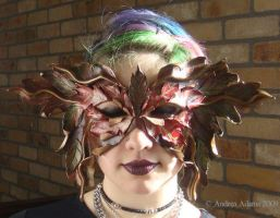 Autumn Leaves Mask by Beadmask