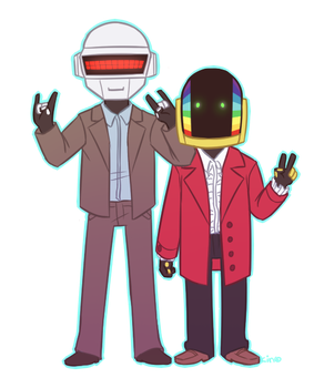 Daft pun title here by Kinotastic