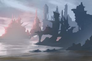 Future Coastal City by jjpeabody