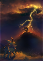 :Commission: Eon Fable: Chapter of Lightning by KoriArredondo