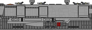 Nyles Raygun Class Flight IIA Escort Carrier by Kelso323