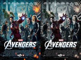 The Avengers Poster - Re-Graded by P2Pproductions