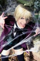 Alois Trancy: In the spider's web by chibinis-chan