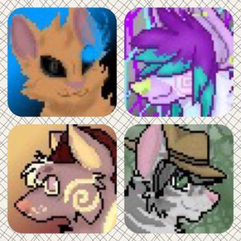 Icon Examples #3 by IsagoKage