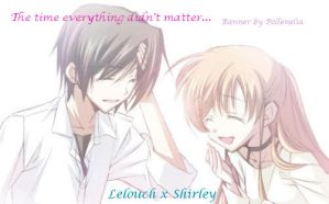 Lelouch x Shirley - Past Smile by yugiohgx5dsgrl