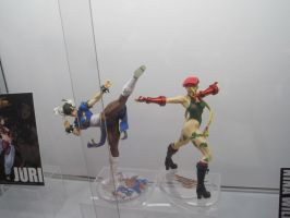 street fighters Statues by WhiteFox89