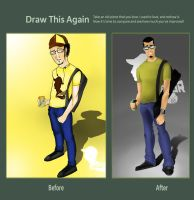 Draw this agian by Tkdflash