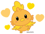 Chibi Torchic by Daieny