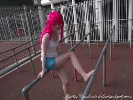 Elfen Lied: Lucy cosplay by MasterCyclonis1