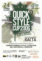 QUICK STYLE CUP : flyer : by lefreim