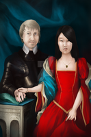 King Arthur and Queen Yixuan by GillianIvy