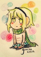 Gumi winter by Maka-Lawliet