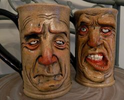 Face Mugs by thebigduluth