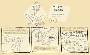 .:Meet Kaeru:. by Zombimatic