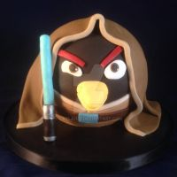 Angry birds star wars cake by laylah22