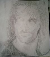 Aragorn/Lord of the Rings by Therunawayshadow