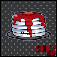 Pancakes Vampire by The-8th-Sin