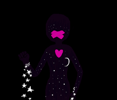 ''and as she bleeds stars'' by fishbowlspace