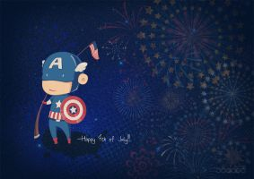 Happy Fourth by ijographicz