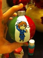 Hetalia Italy Christmas Ornament by DisruptiveDiva