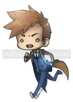 2nd gen chibi - 10th Doctor / Doctor Who by Puffsan