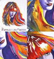 Florence + The Machine/Fabric by ZimnaKawa