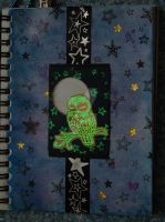 sketchbook page 25 - glow in the dark by lonesomeaesthetic