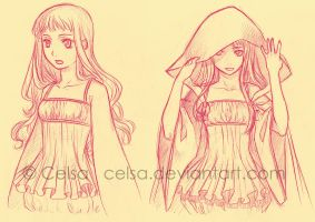 Sketch: Siena by Celsa