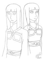 Desna and Eska by SinisterSorrows