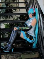 Hatsune Miku - Vocaloid by LollipopBunnie